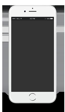 iphone blank screen